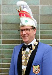 Spargelstecher Präsident Alexander Boppel