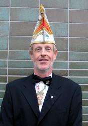 Spargelstecher Senator Hans-Georg Eisen