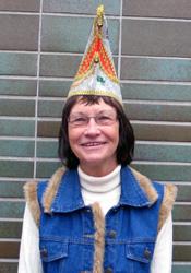 Spargelstecher Senatorin Christiane Forelle