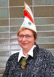 Spargelstecher Senatorin Gerlinde Hartmann