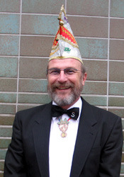 Spargelstecher Senator Gerhard Lentz