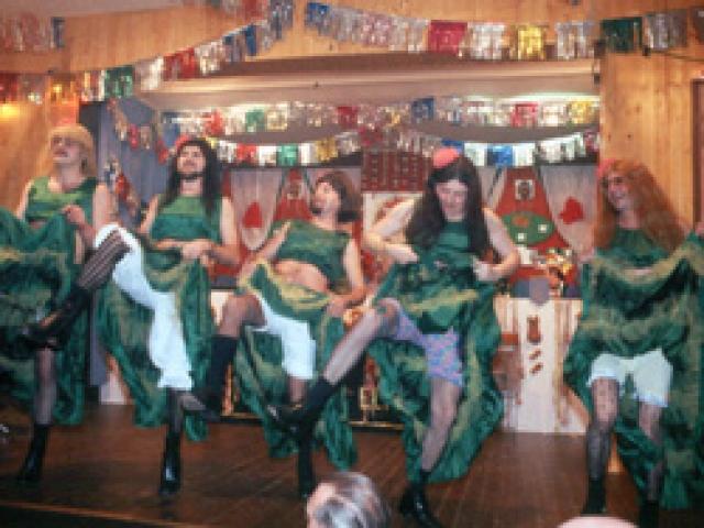 Spargelstecher Fasnacht Männerballett 1983