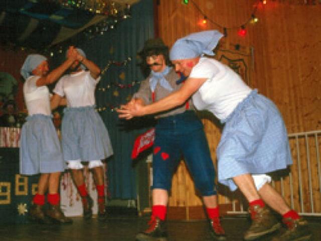 Spargelstecher Fasnacht Männerballett 1985