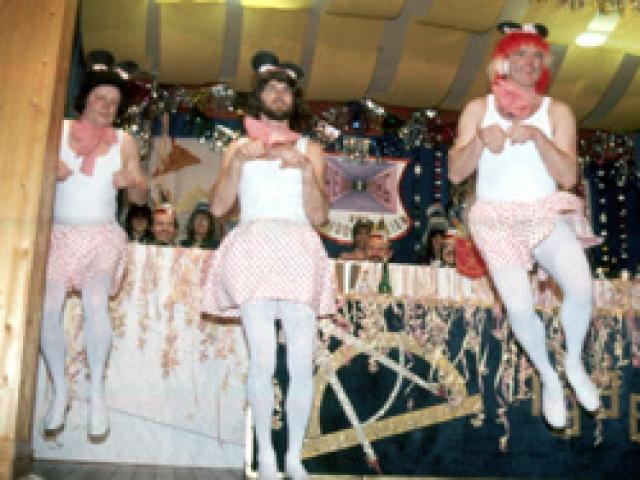 Spargelstecher Fasnacht Männerballett 1986