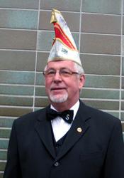 Spargelstecher Senator Ulrich Mosemann