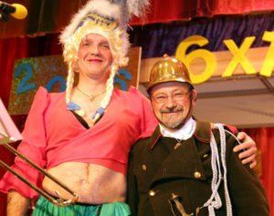 Spargelstecher-Fasnacht: Tanzpaar der Grätzbacke