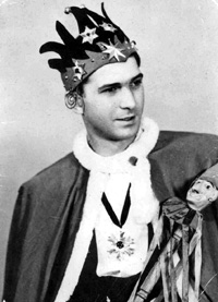 Spargelstecher Fasnacht Prinz 1951 - Franz I.