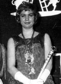 Spargelstecher Fasnacht Prinzessin 1959 - Doriana I.