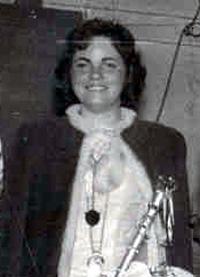 Spargelstecher Fasnacht Prinzessin 1960 - Ingrid I.