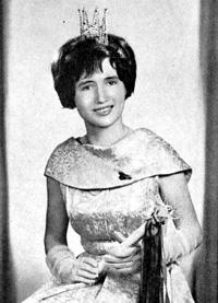 Spargelstecher Fasnacht Prinzessin 1963 - Ursula II.