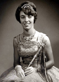 Spargelstecher Fasnacht Prinzessin 1964 - Hildegard I.