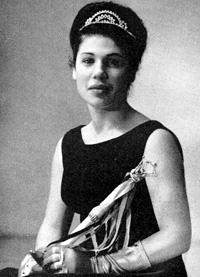 Spargelstecher Fasnacht Prinzessin 1965 - Margarete I.