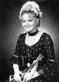Spargelstecher Fasnacht Prinzessin 1972 - Angelika I.