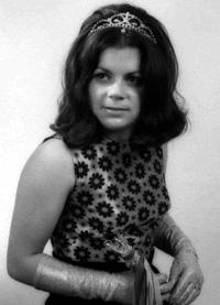 Spargelstecher Fasnacht Prinzessin 1973 - Brigitte II.