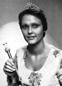 Spargelstecher Fasnacht Prinzessin 1975 - Ingeborg I.