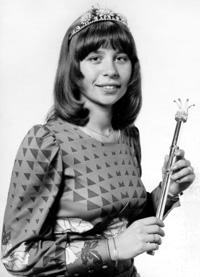 Spargelstecher Fasnacht Prinzessin 1977 - Angelika II.