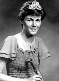 Spargelstecher Fasnacht Prinzessin 1978 - Silvia I.