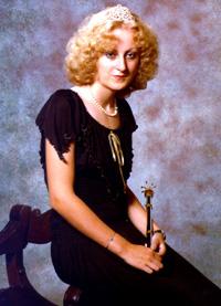 Spargelstecher Fasnacht Prinzessin 1979 - Renate III.