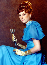 Spargelstecher Fasnacht Prinzessin 1980 - Petra I.