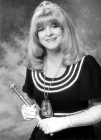 Spargelstecher Fasnacht Prinzessin 1981 - Barbara I.
