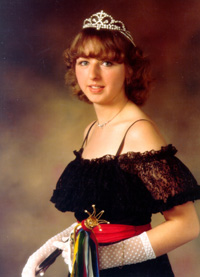 Spargelstecher Fasnacht Prinzessin 1982 - Anette I.