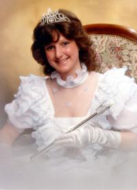 Spargelstecher Fasnacht Prinzessin 1987 - Karin I.