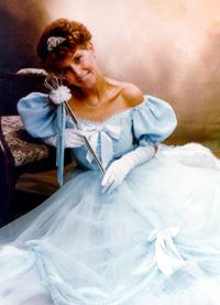 Spargelstecher Fasnacht Prinzessin 1989 - Judith I.