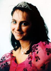 Spargelstecher Fasnacht Prinzessin 1993 - Heike II.