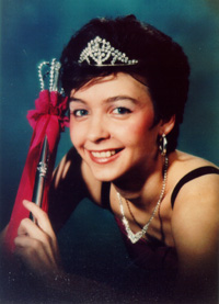 Spargelstecher Fasnacht Prinzessin 1994 - Gabi I.