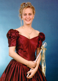 Spargelstecher Fasnacht Prinzessin 1996 - Simone II.