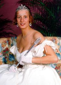 Spargelstecher Fasnacht Prinzessin 1997 - Katrin I.