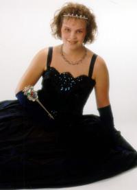 Spargelstecher Fasnacht Prinzessin 2001 - Yvonne I.