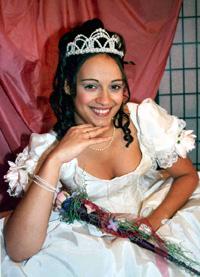 Spargelstecher Fasnacht Prinzessin 2004 - Daniela I.