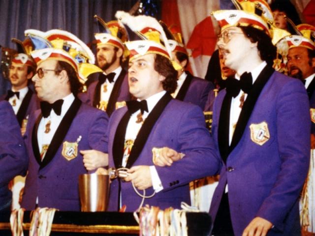 Spargelstecher - 1983 - Präsident Michael Boppel