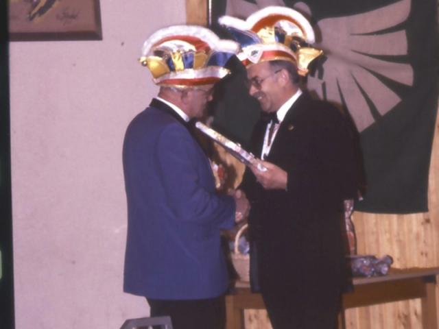 Spargelstecher - 1983 - Verabschiedung Max Möhring