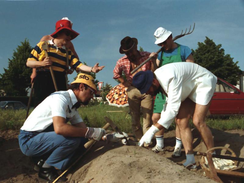 Spargelstecher - 1985 - Spargelstechen