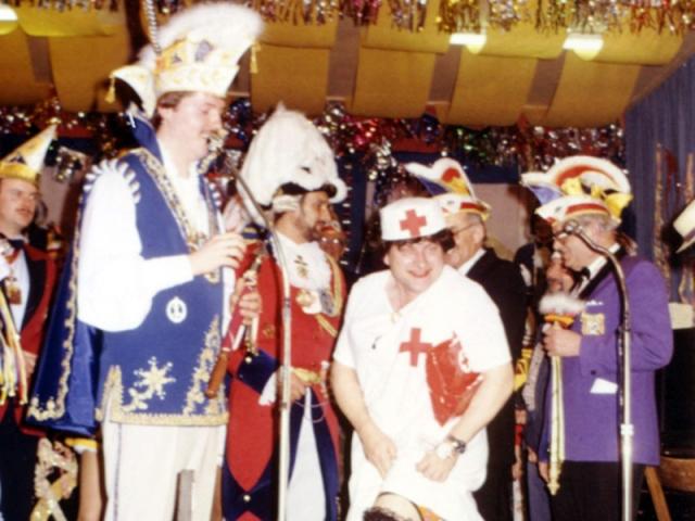 Spargelstecher - 1986 - Prunksitzung