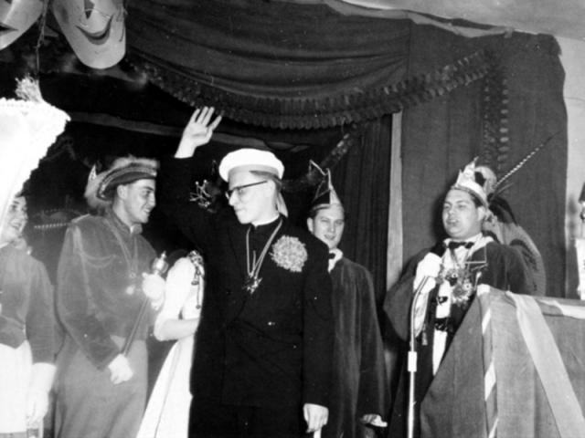 Spargelstecher - 1958 - Präsident Rudi Zorn