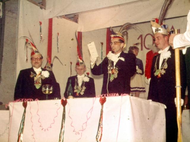 Spargelstecher - 1961 - Präsident Albert Weiß
