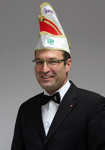 Spargelstecher Senator Volker Hemmerich
